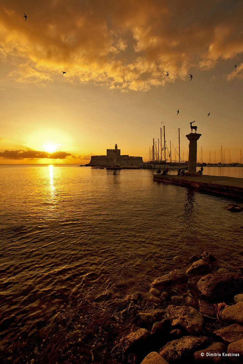 Photograph  Sunrise at Rhodes Greece by Dimitris Koskinas on 500px