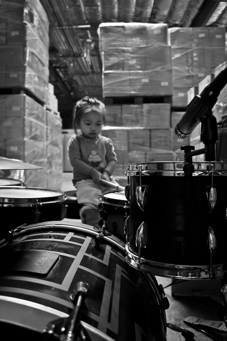 Photograph Little Drummer Girl by jude semana on 500px