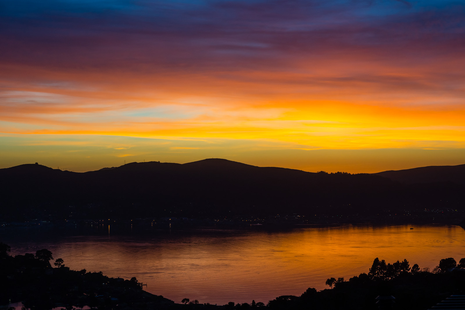Photograph Winter Sunset over Sausalito by Rich Shelton on 500px