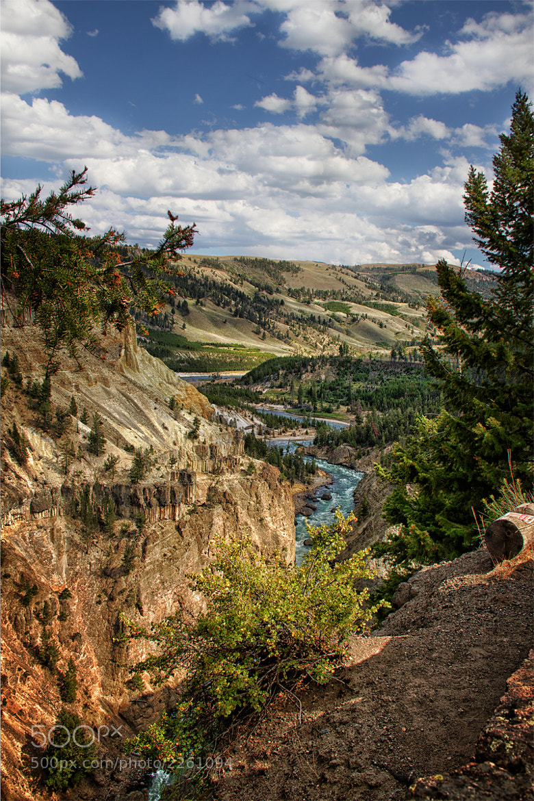 Photograph Yellowstone River by Ian McConnell on 500px