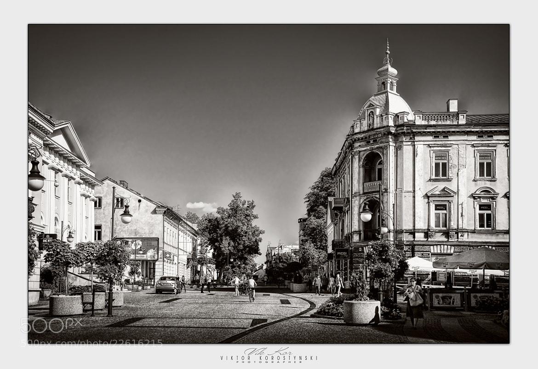 Photograph Streets of Radom.Poland by Viktor Korostynski on 500px
