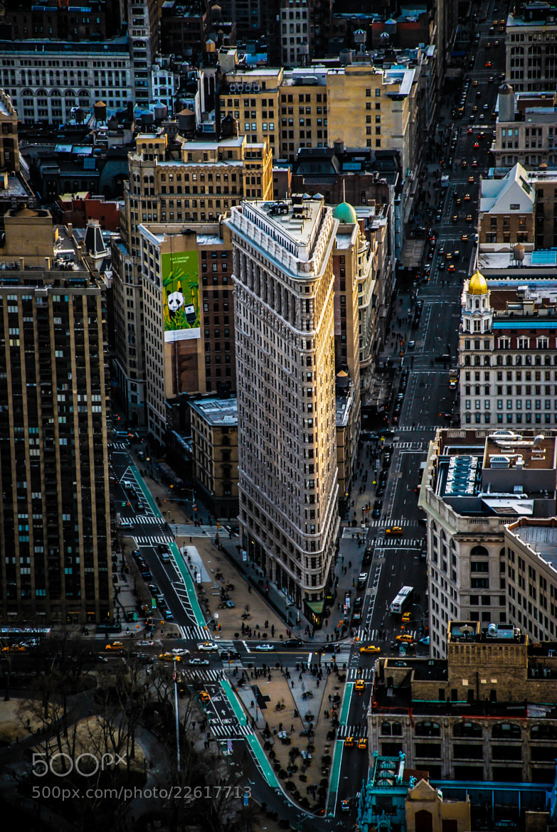 Photograph Flatiron Building, NYC by Nicolas Veyret on 500px