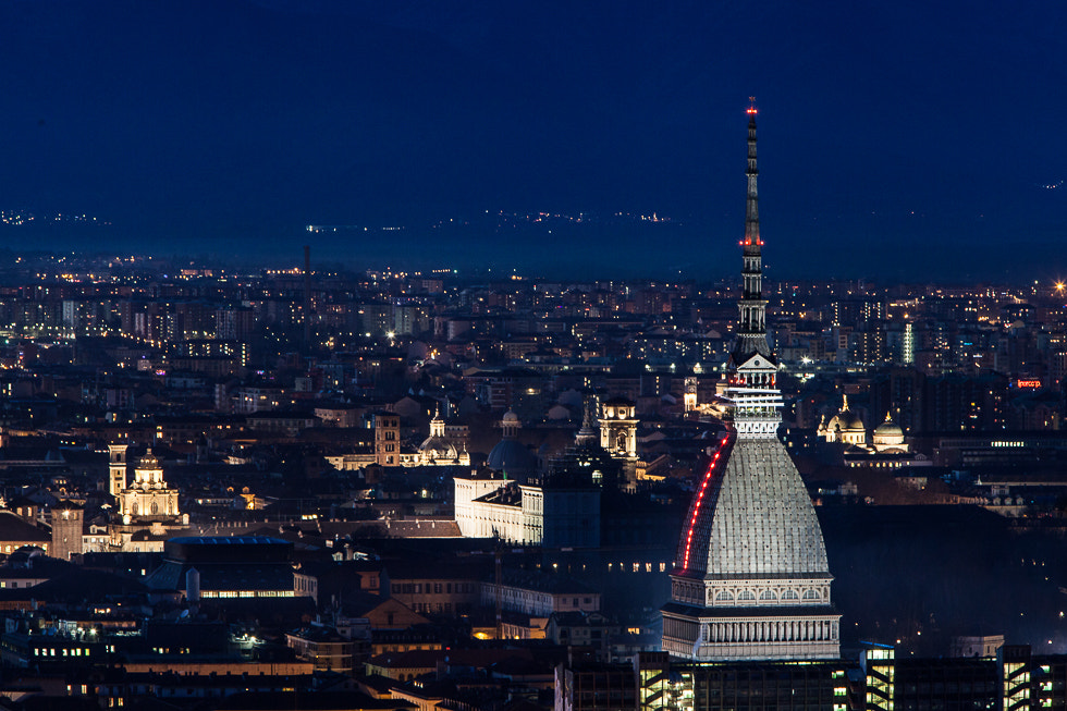 Photograph Mole Antonelliana by night  by Paolo Baronchelli on 500px