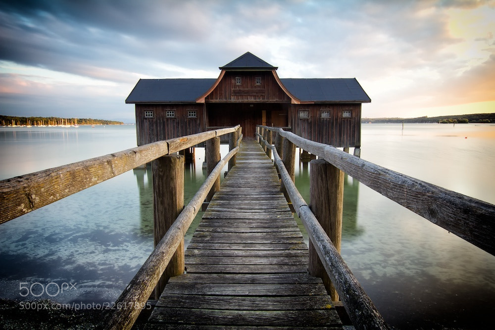Photograph Boathouse Germany by Tom Brunner on 500px