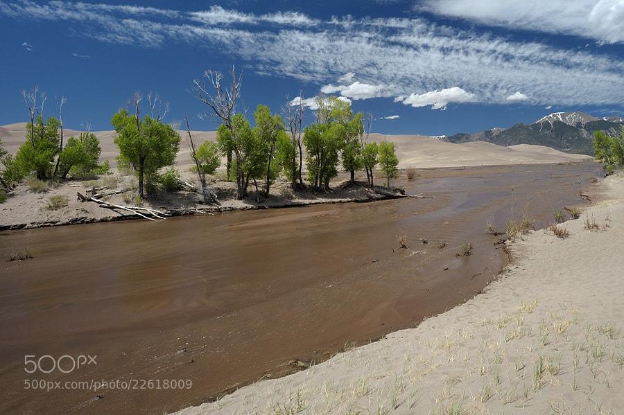 Photograph Medano Creek by Jimmy De Taeye on 500px