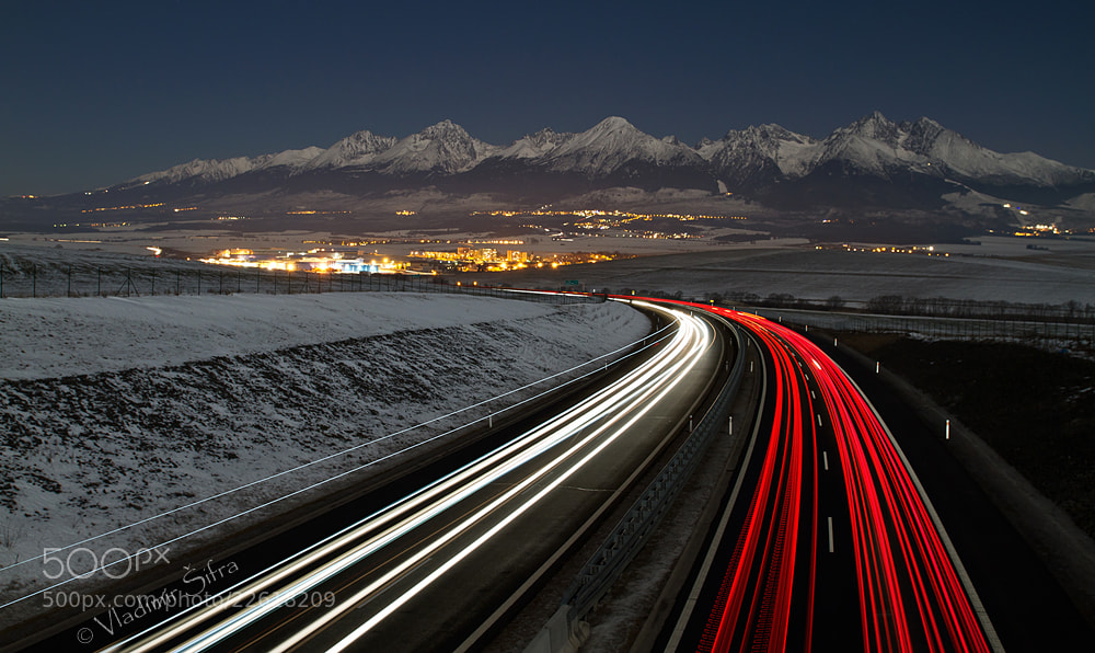 Photograph Tatra Mountains and Highway by Vladimír Šifra on 500px
