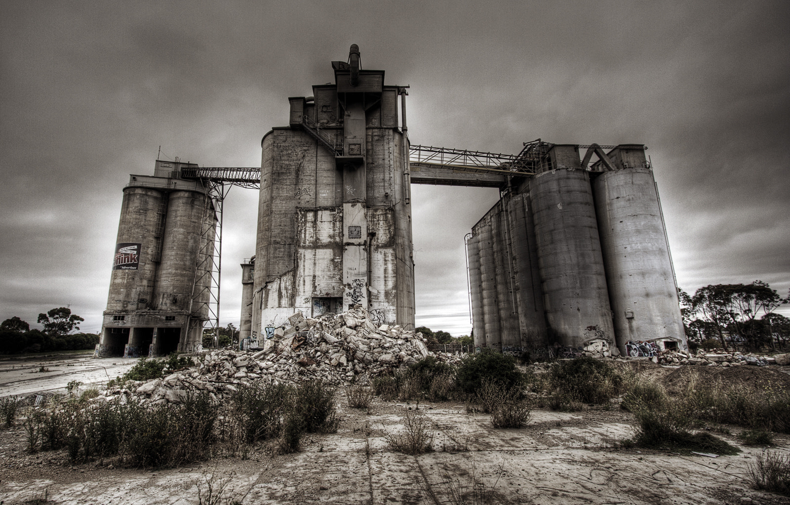 Photograph Geelong Cement Works by Chris O'Neil on 500px