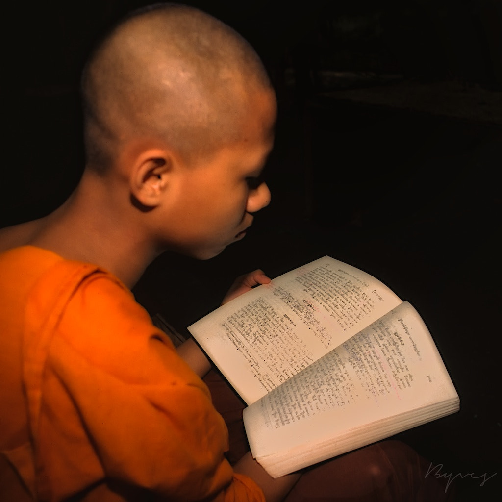 Photograph The study of sacred texts by yves b on 500px