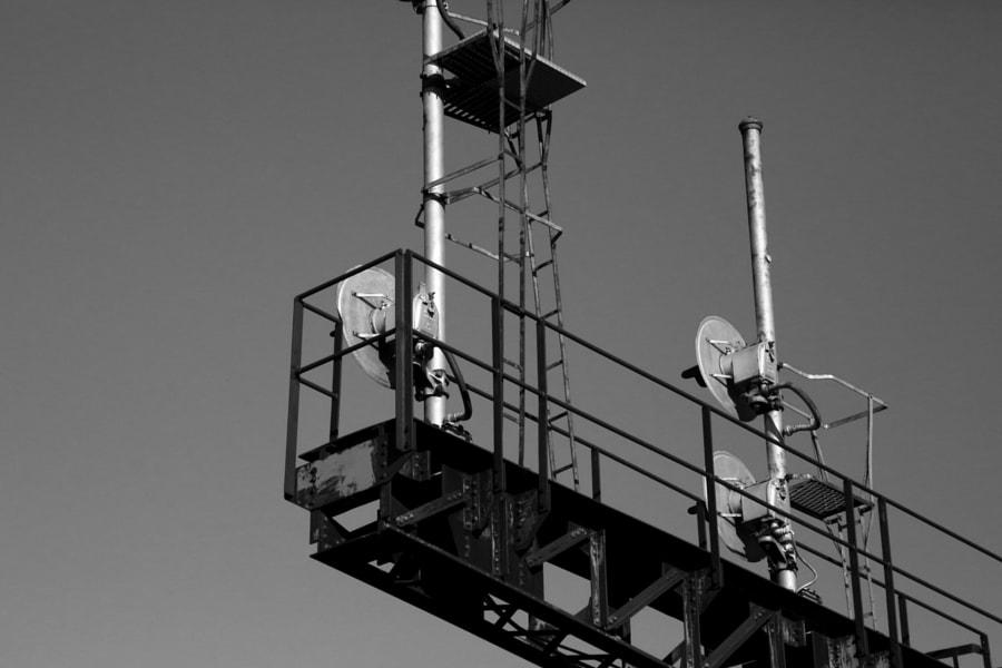 Signal Bridge by Mark Becwar on 500px.com