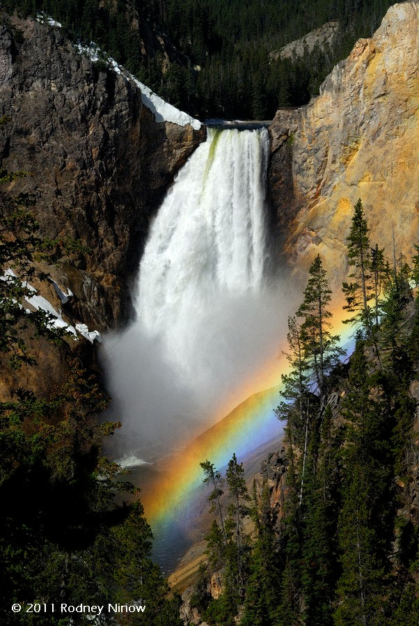 Photograph Lower Falls, Yellowstone by Rodney Ninow on 500px