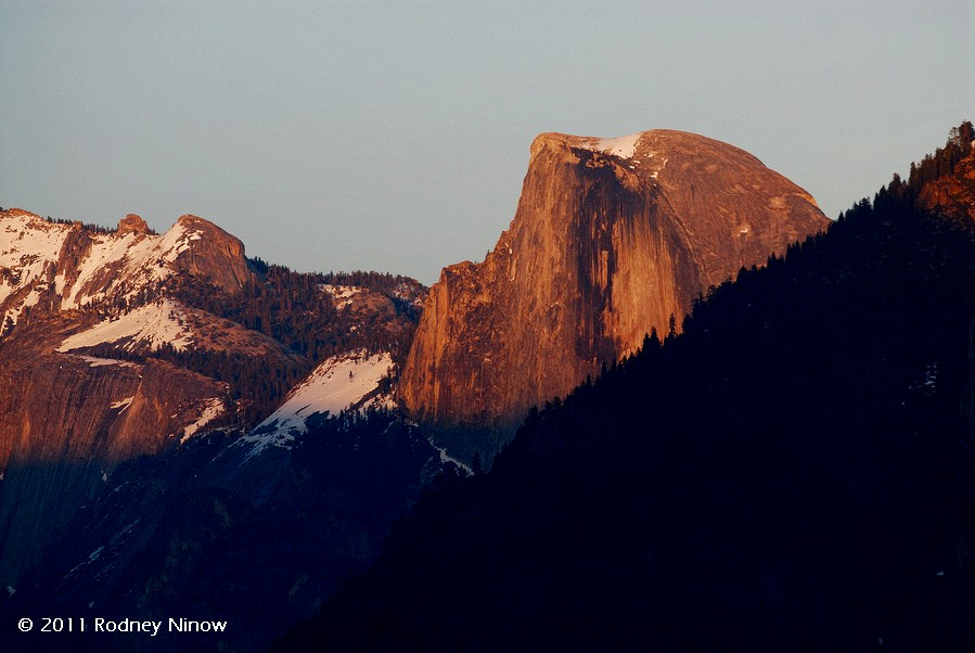 Photograph Half Dome at Sunset, Yosemite by Rodney Ninow on 500px