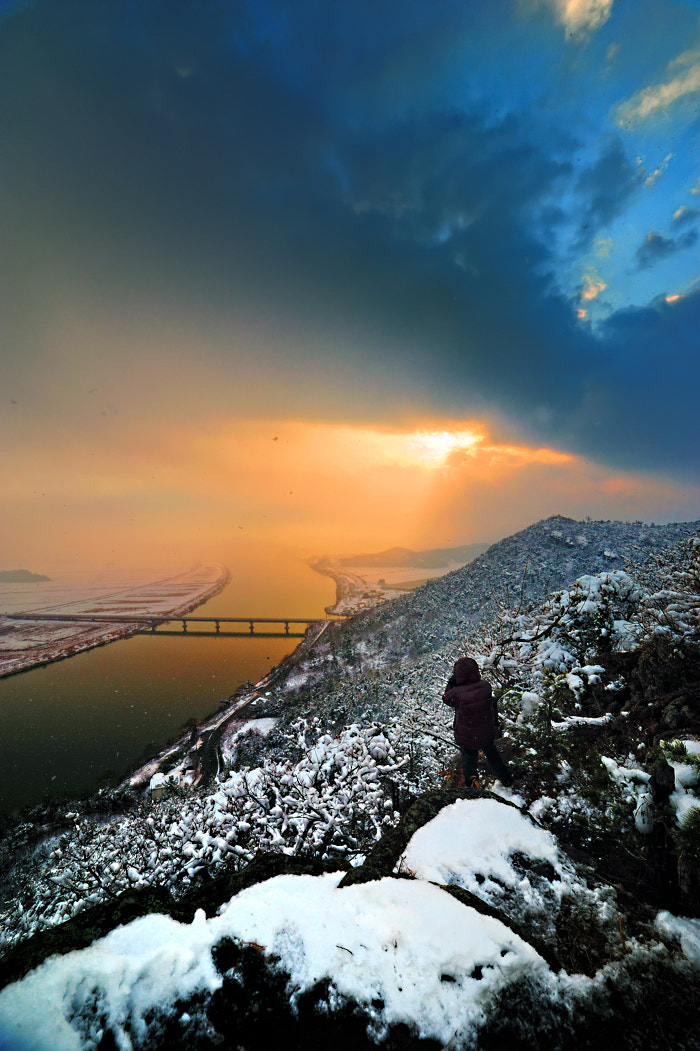 Photograph Snow  at sunset by KIM EZRA on 500px