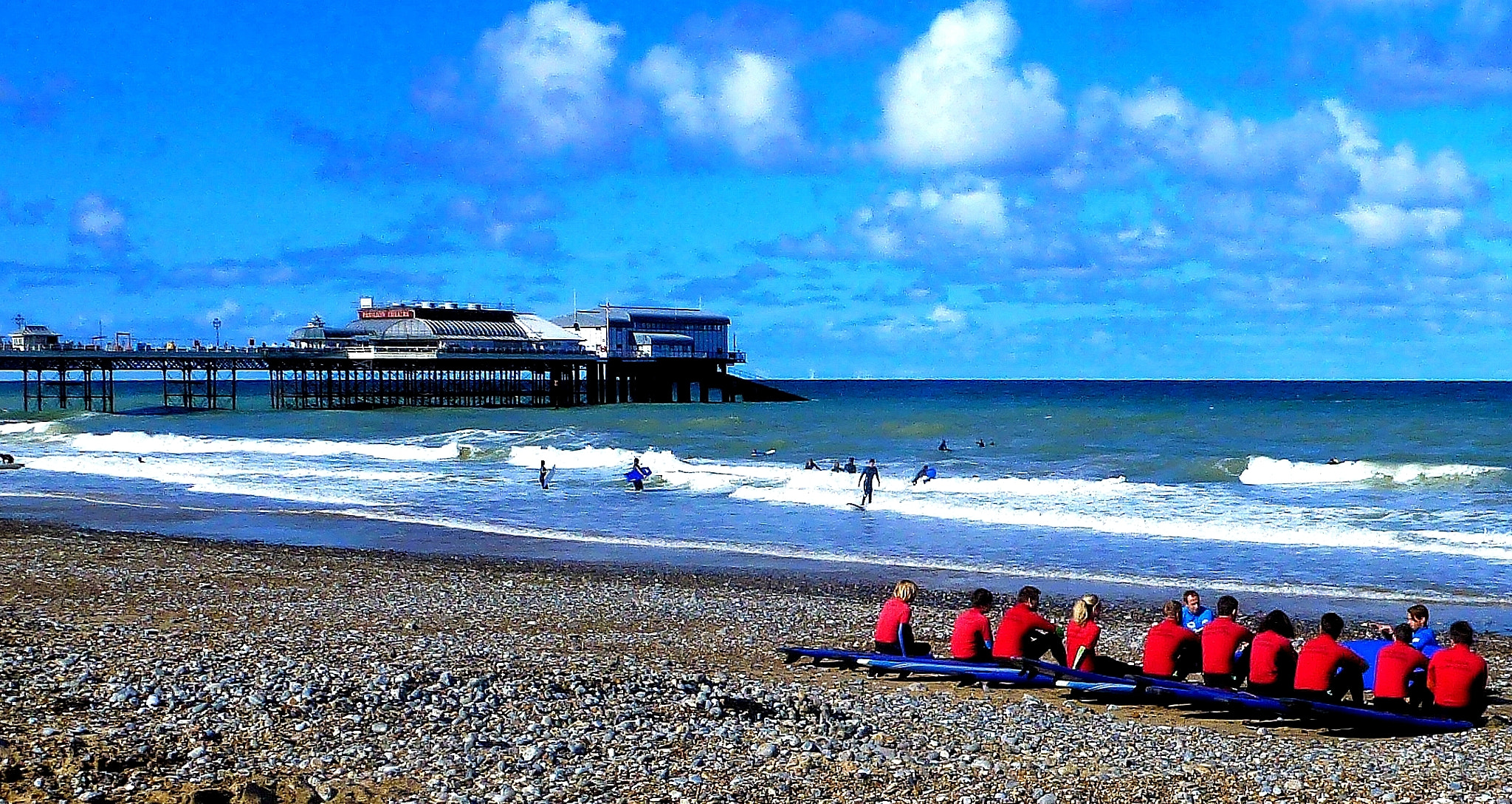 Photograph Surf Lesson, Cromer, Norfolk, UK. by Chris Smith on 500px