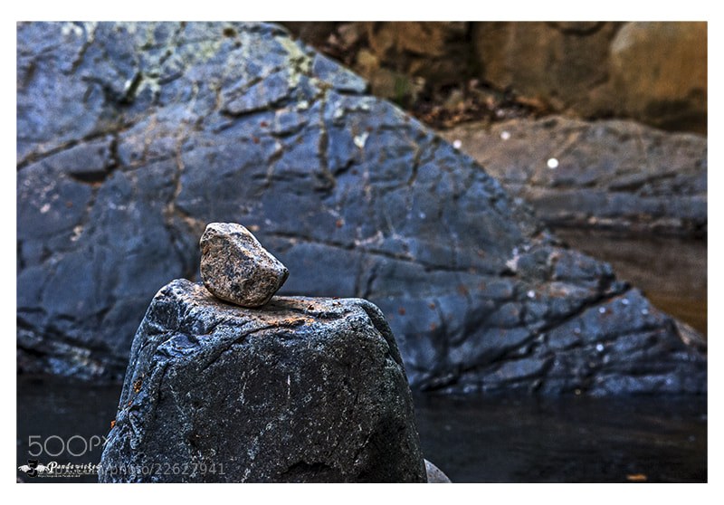 Photograph Cold river stone by PandaWicked  on 500px