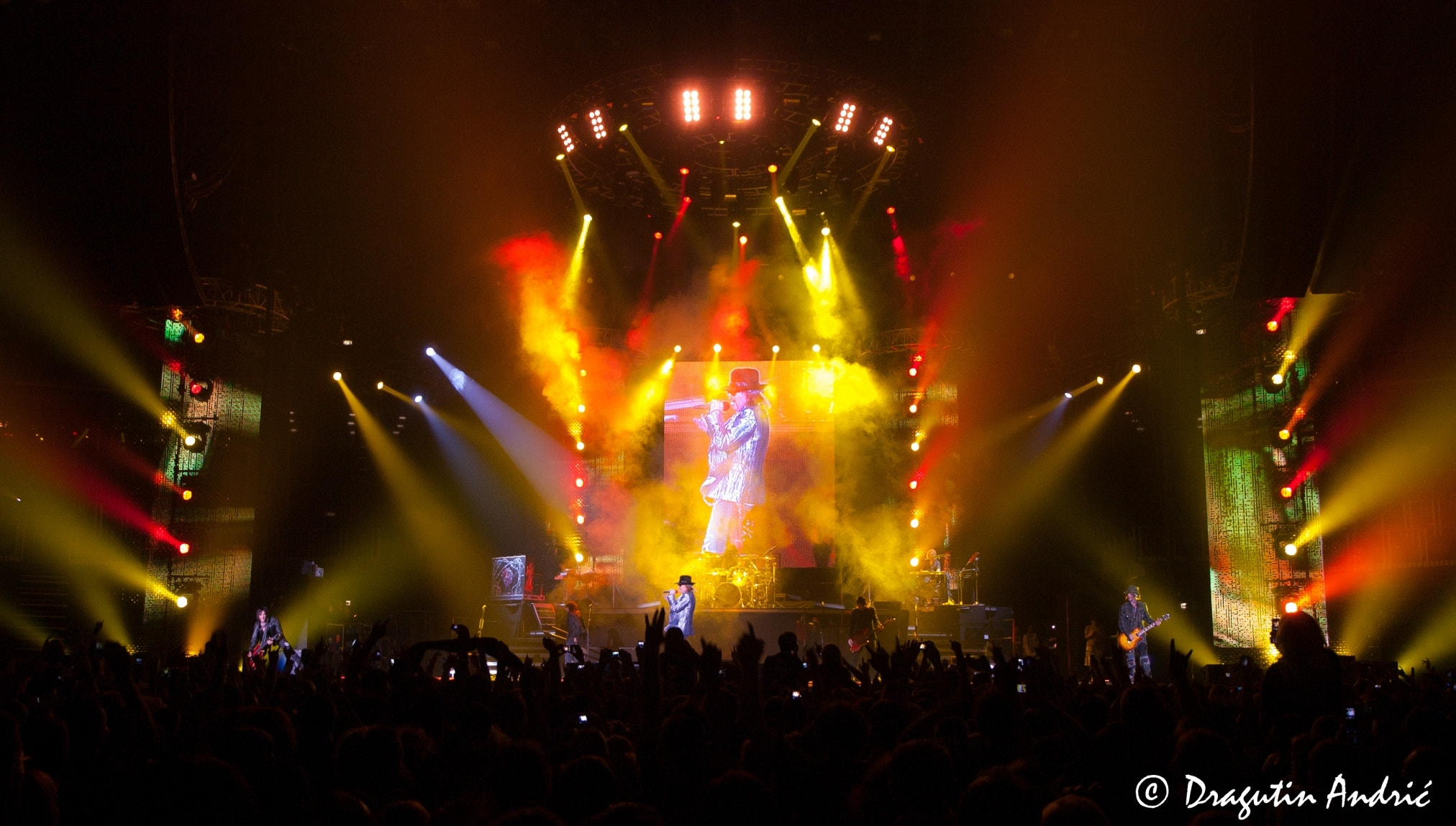 Photograph Guns n' Roses - live! by Dragutin Andric on 500px