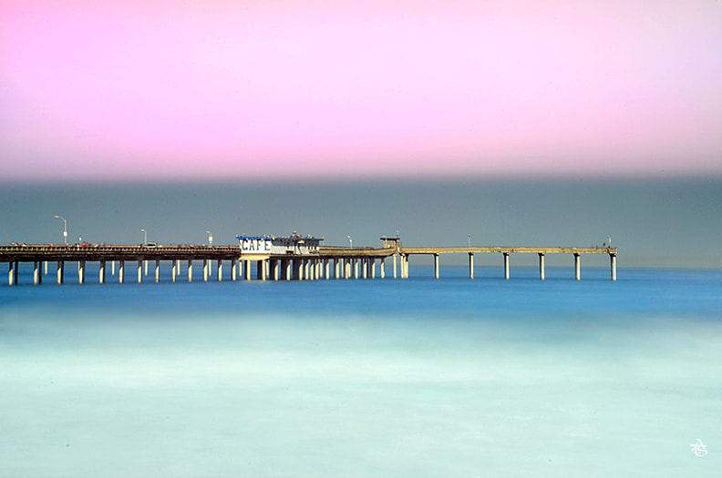 Photograph Ocean beach pier at morning . by ATS TRAN on 500px