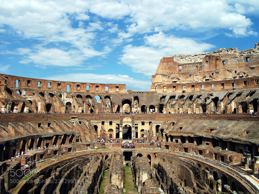 Photograph Colosseum by Fabian Spiteri on 500px