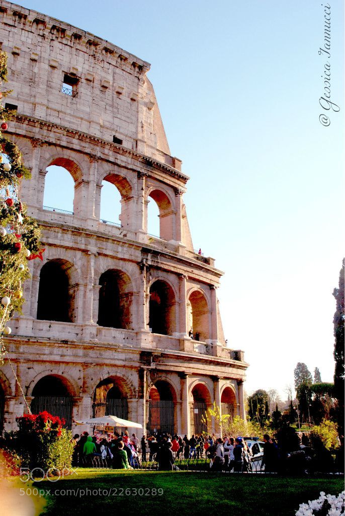 Photograph Colosseo. by Gessica Iannucci on 500px