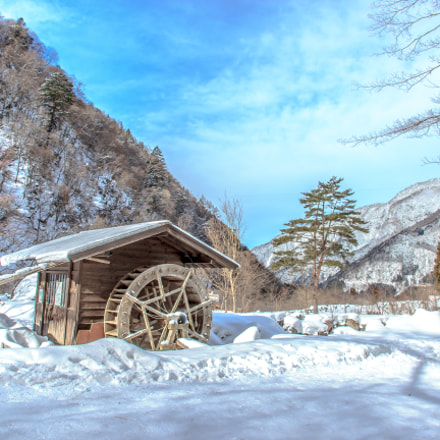 Winter water mill