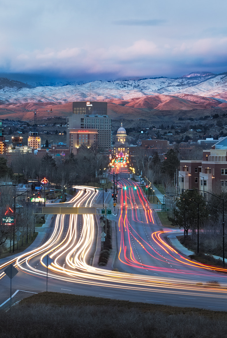 Photograph Goodnight Boise by jared ropelato on 500px