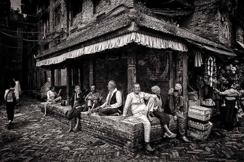 Photograph Street of Bakthapur by yves b on 500px