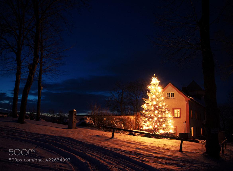 Photograph Christmas Chapel by NICOLAI BÖNIG on 500px