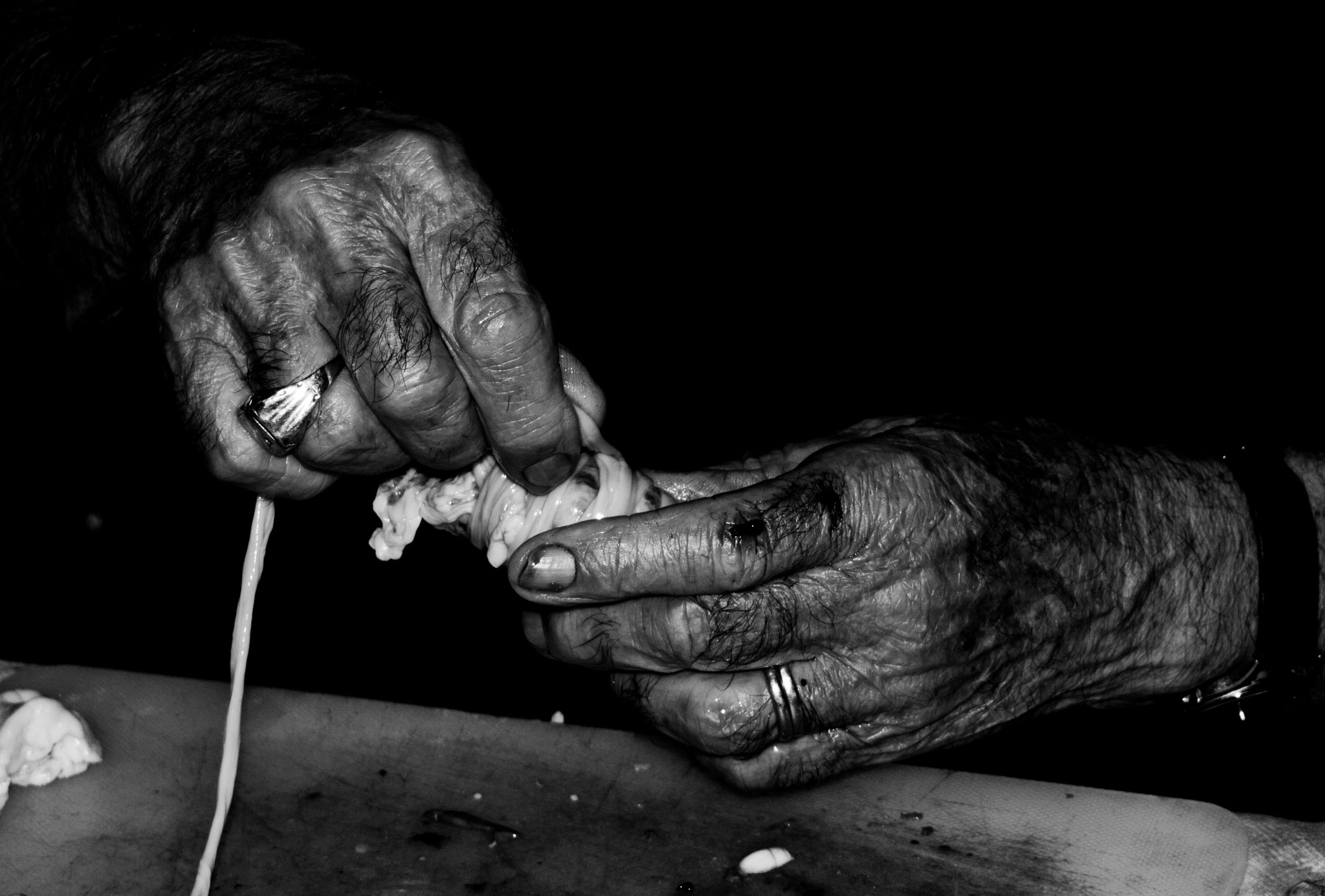 Photograph Old hands by Tony  Carriero on 500px