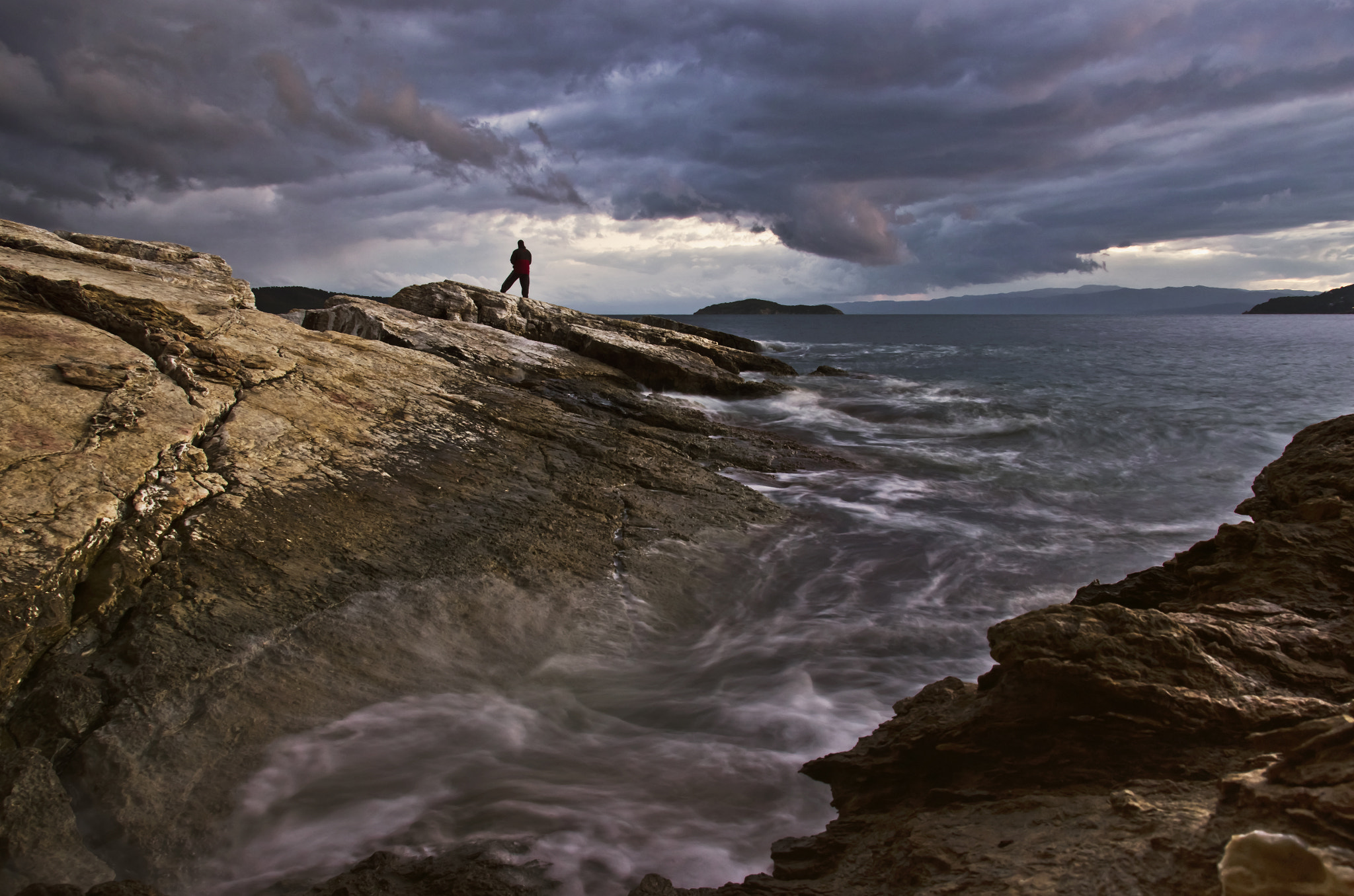 Photograph lonely fisherman by Konstantinos Goulas on 500px