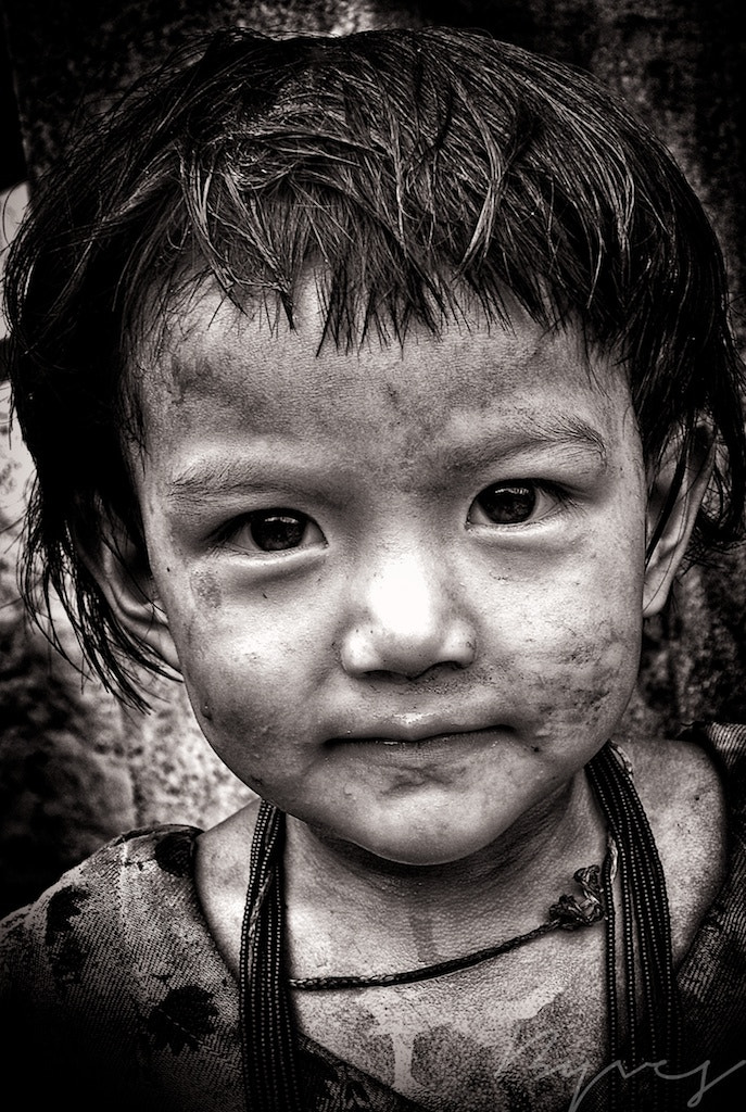 Photograph Little girl by yves b on 500px