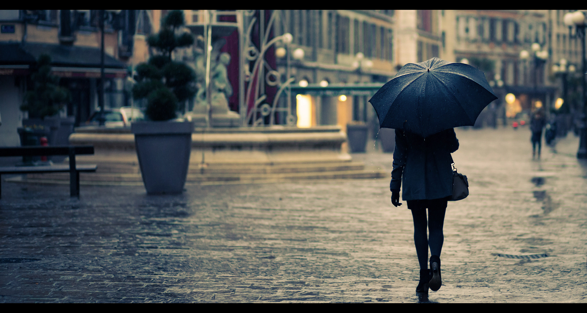 Photograph her umbrella by Eneade   on 500px