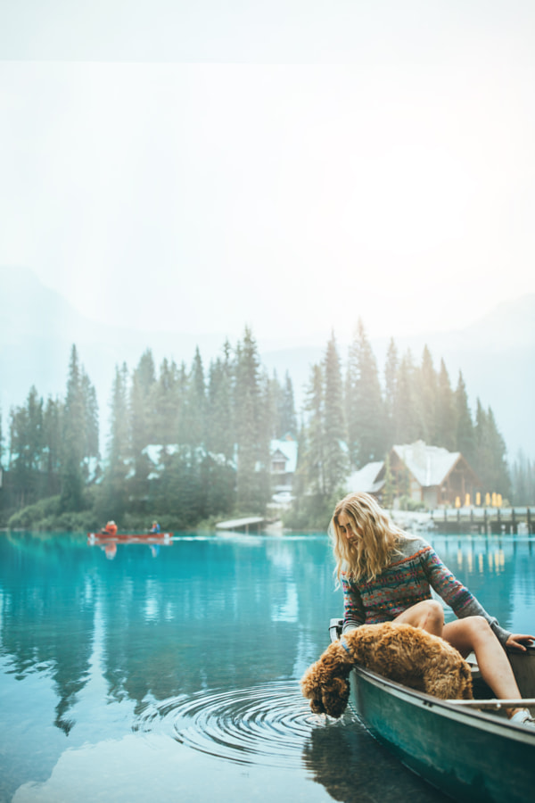 Sunrise at Emerald Lake by Brendan Bannister on 500px.com