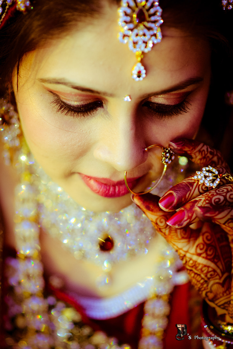 Photograph Indian bride by Divyam Mehrotra on 500px
