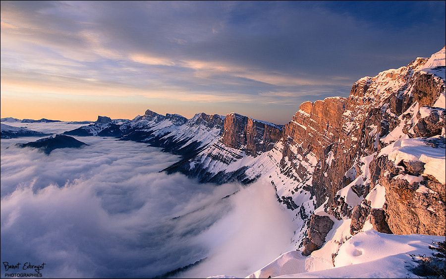 Photograph  Que la montagne est belle ... [Mountain is beautiful] [3] by Benoît Exbrayat on 500px