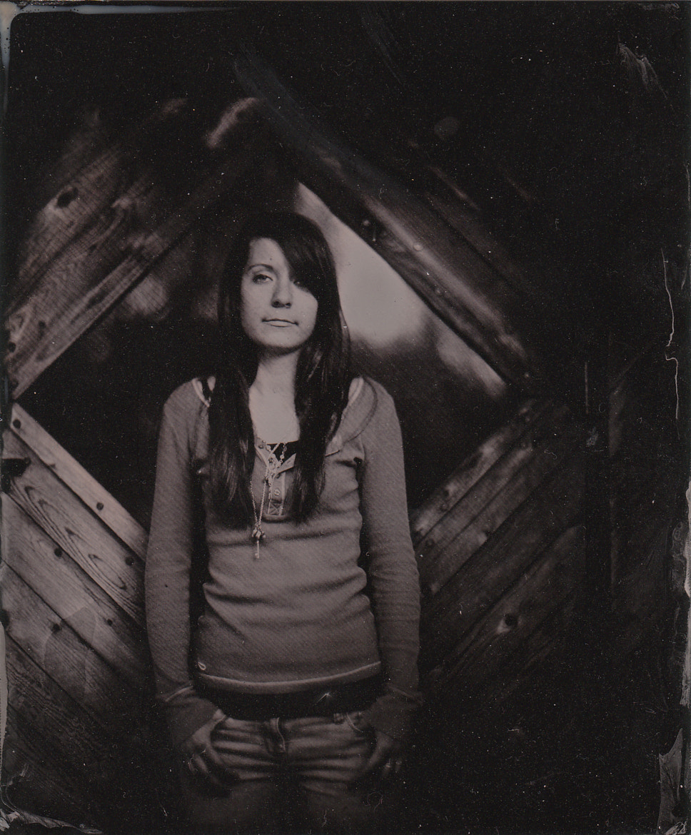 Photograph Wetplate Collodion Portrait with Aero Ektar by Christoph Schweiger on 500px