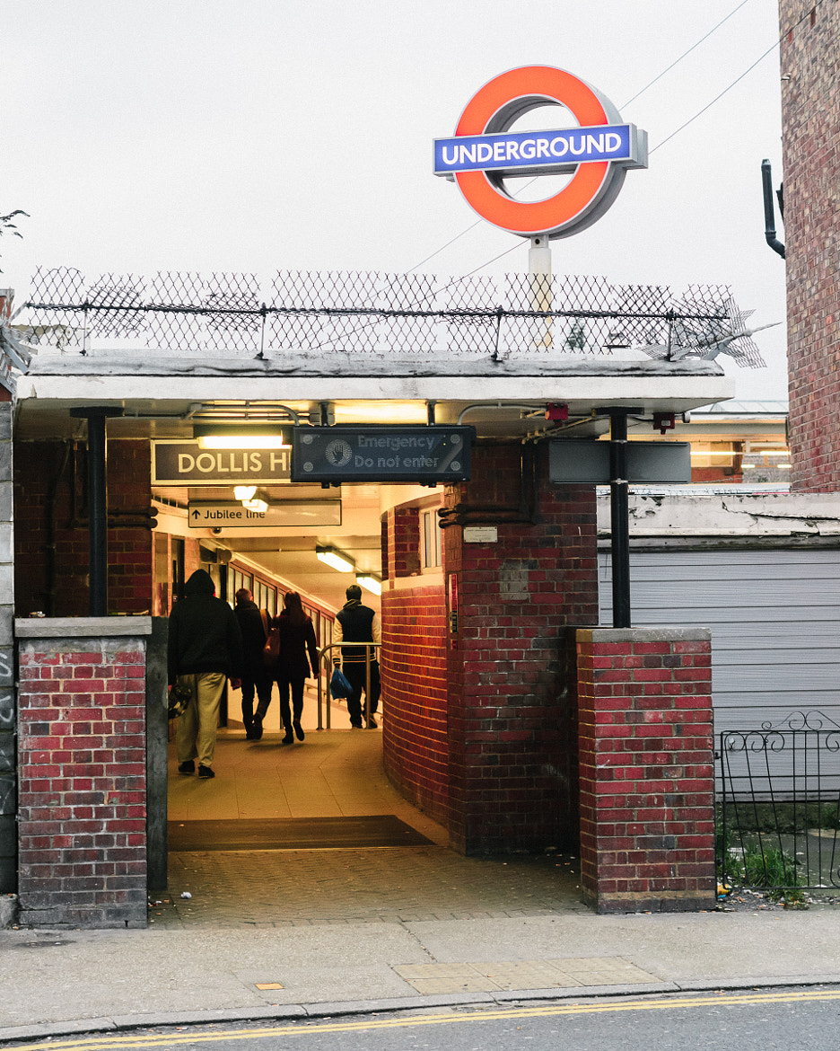 Photograph Fort Dollis Hill, Underground Station London by Tom  O'Leary on 500px