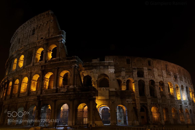Photograph Colosseo by Giampiero Ranieri on 500px