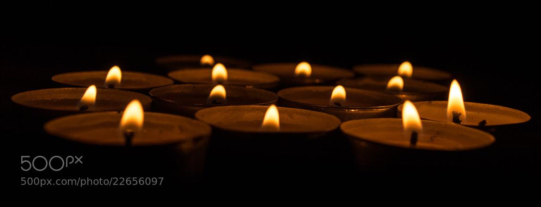 Photograph Candle light by Olga Filipova on 500px