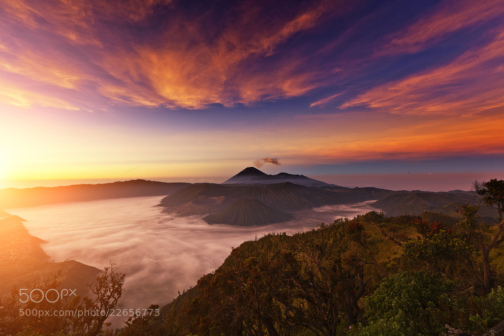 Photograph Sunrise in Mount Bromo by Justin Ng on 500px