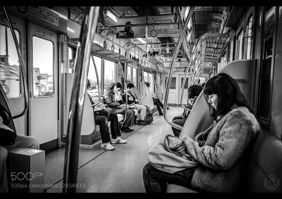Photograph Life In A Metro II by Alessandro Baffa on 500px