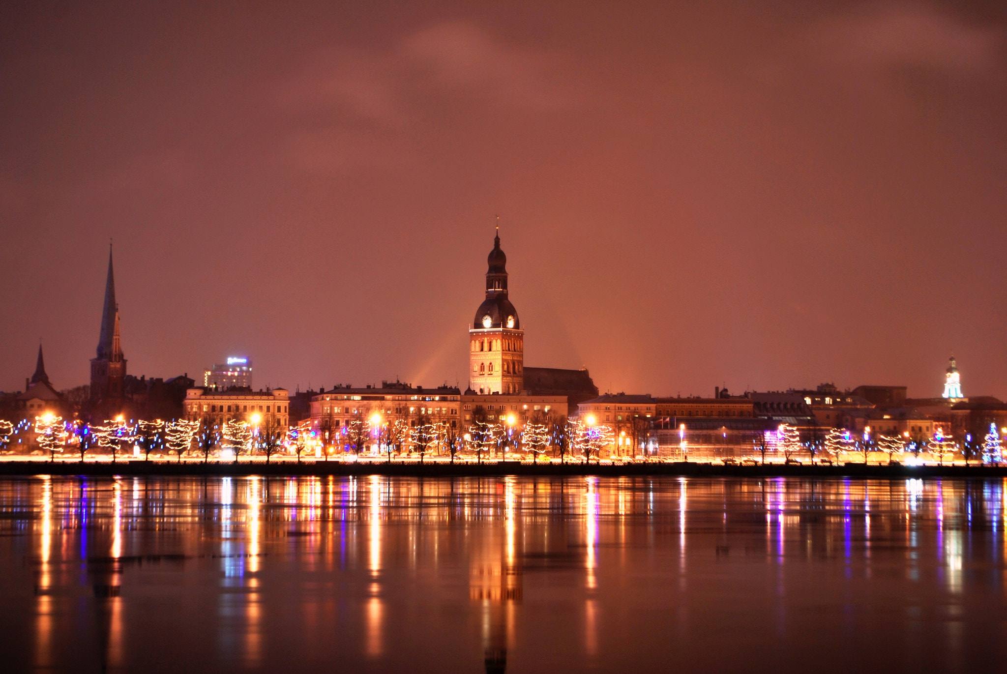 Photograph NIGHT OLD RIGA  by Andrejs Marčenko on 500px