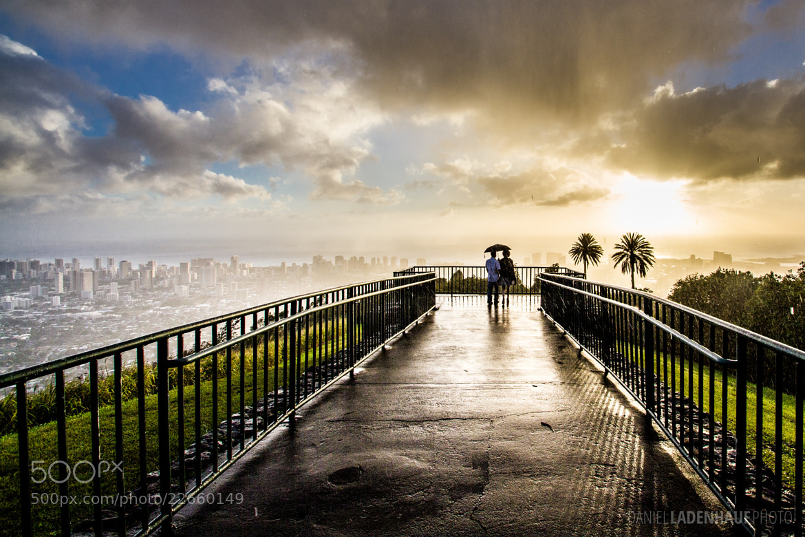 Photograph Couple in the Rain by Daniel Ladenhauf on 500px