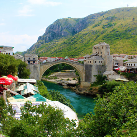 Stari Most in Mostar, Bosnia & Herzegovina