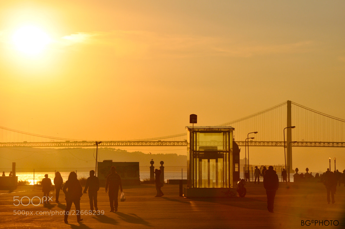 Photograph Sunset in Lisboa by Bruno Grassi on 500px