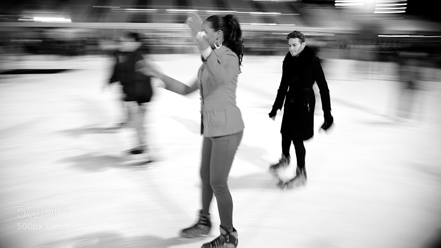 Photograph NYC Ice skaters by Fabiano  on 500px
