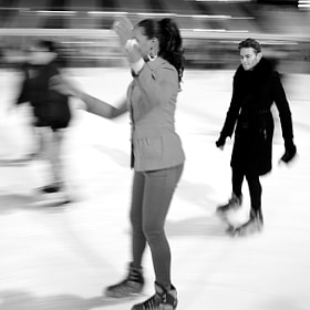 NYC Ice skaters by Fabiano  (cosmicman)) on 500px.com