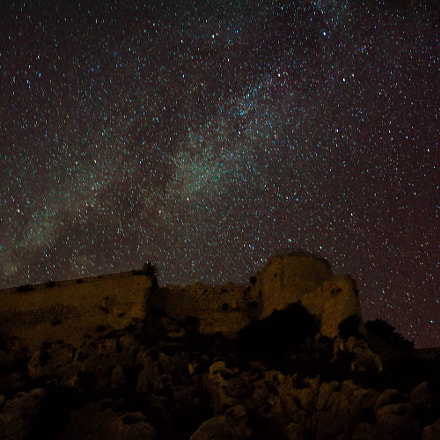 Milky Way in a historic place