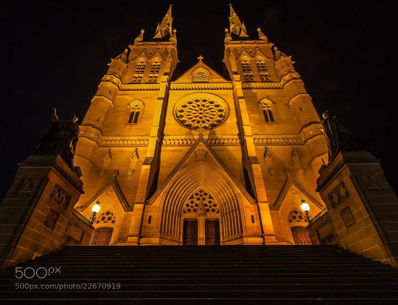Photograph Sydney Church by Enrico Becker on 500px