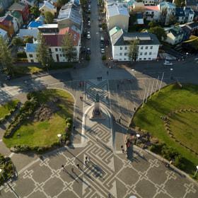 Photograph reykjavíkCity by Lukas Bachschwell