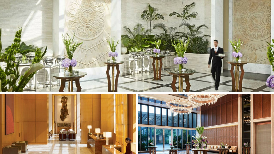 Four Seasons Mumbai Lobby by Sai Karthik Reddy Mekala on 500px.com