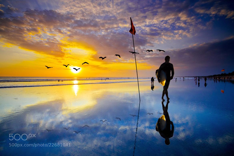Photograph Good Night Surfer by Wisnu Taranninggrat on 500px